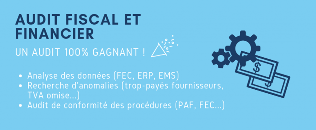 Audit fiscal et financier : un audit 100% gagnant !
